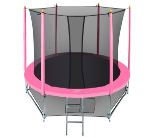Батут с сеткой Hasttings Classic Pink (2,44 м)